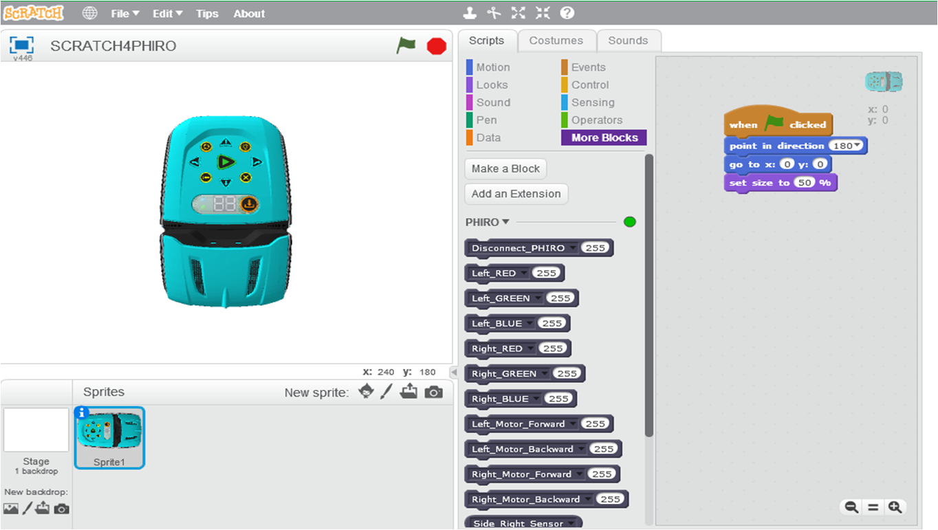 Introduction to Scratch 4 Phiro